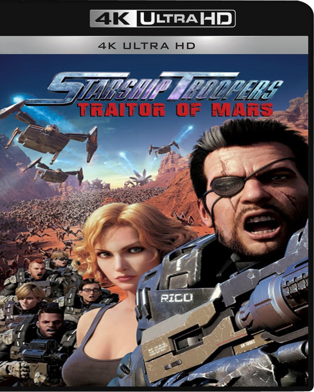 Starship Troopers: Traitor of Mars [2017] [UHD] [2160p] [Latino – Castellano]