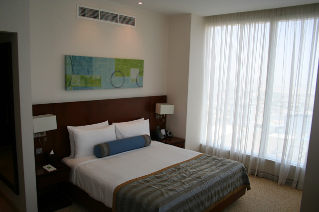 Deluxe sleeping area, Nassima Royal Hotel, Dubai