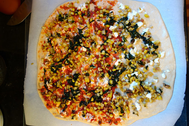 http://www.farmfreshfeasts.com/2012/11/swiss-chard-corn-and-feta-pizza-pizza.html