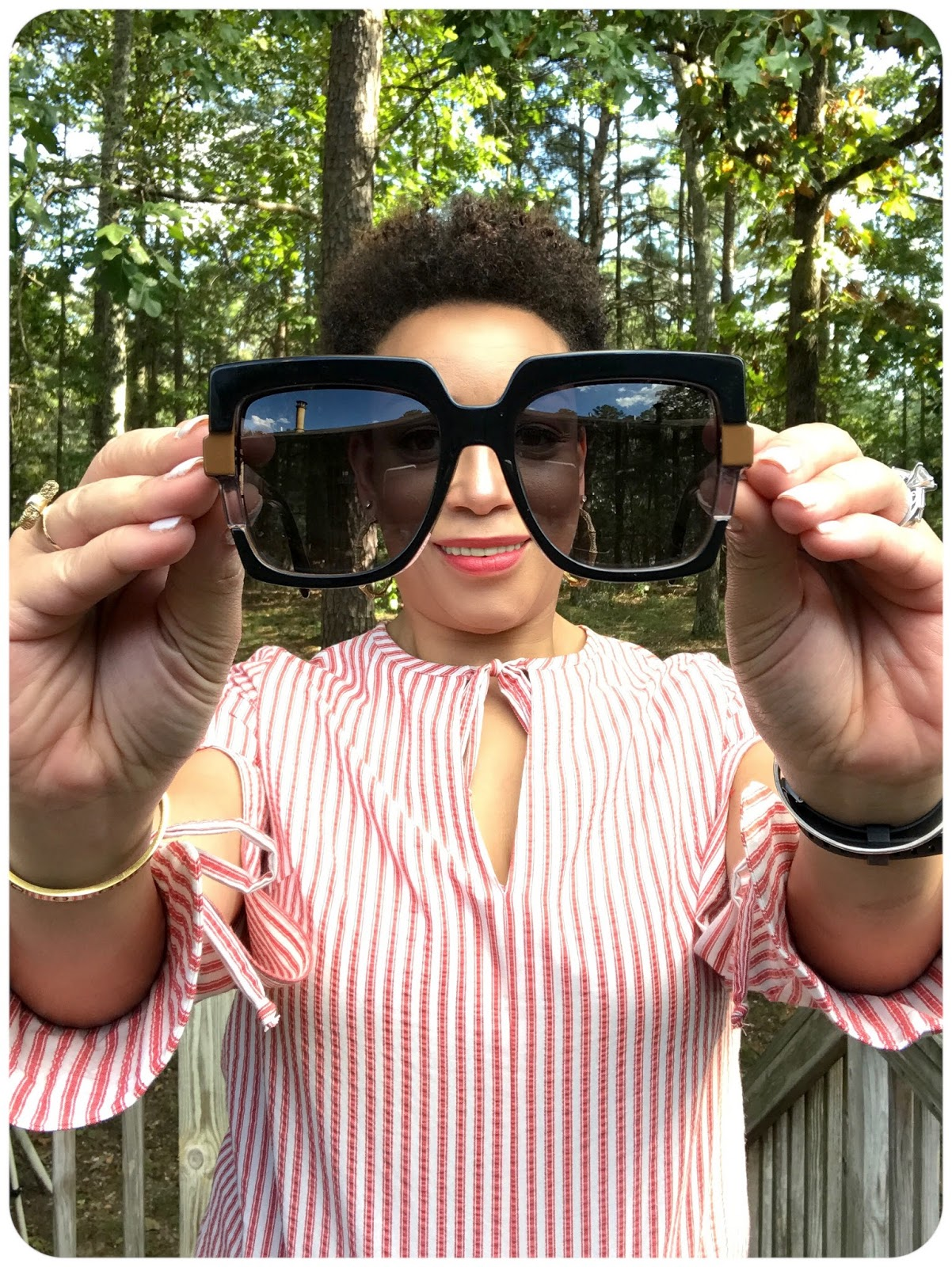 Fendi Sunglasses from EyeDesired.com -- Erica Bunker DIYStyle!