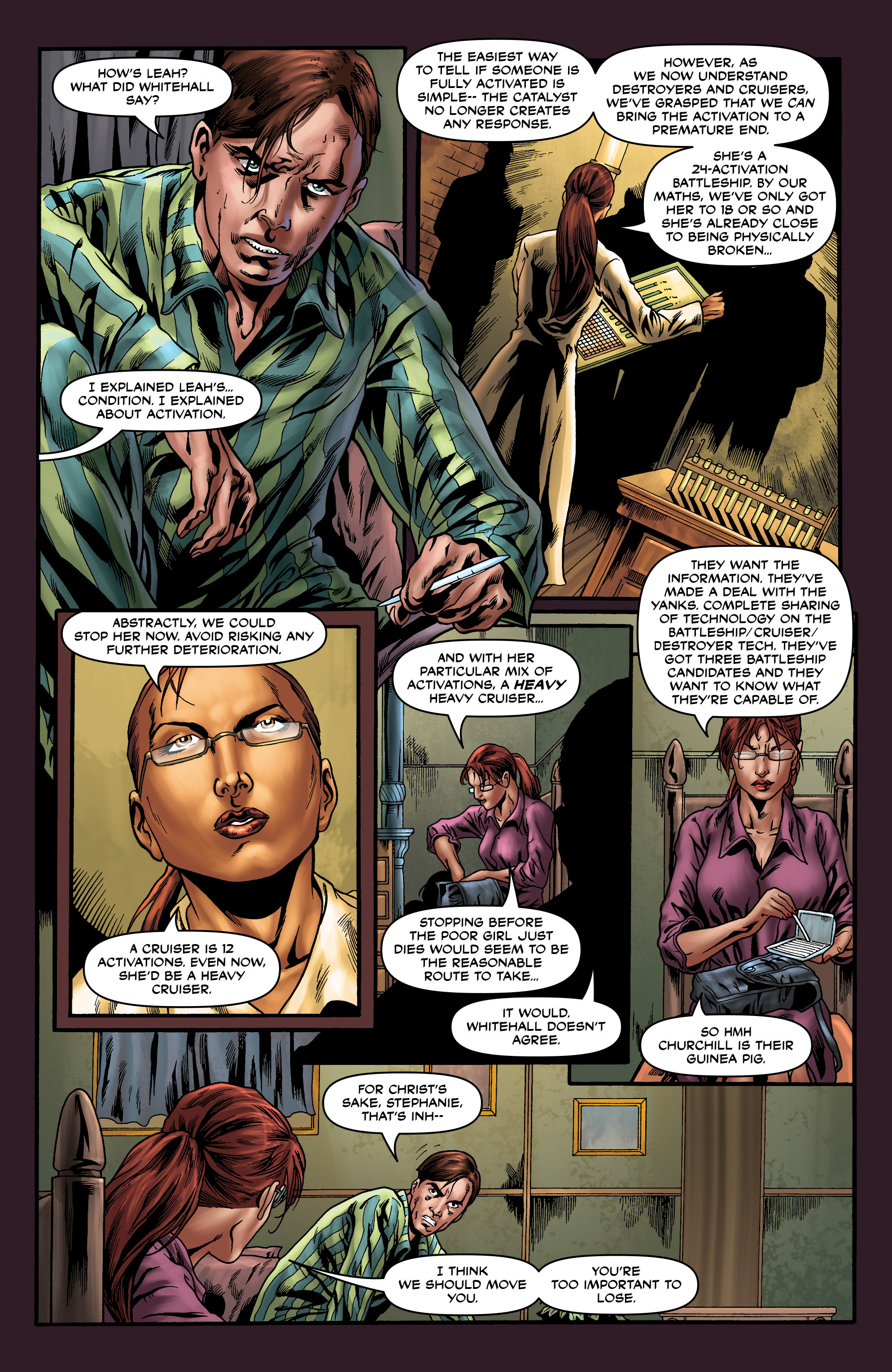 Read online Uber comic -  Issue #19 - 20