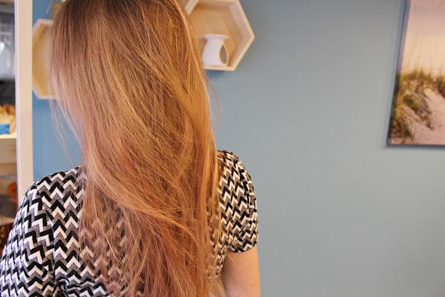 truskawkowy blond