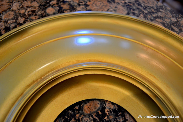 how to make your own convex mirror via Worthing Court blog