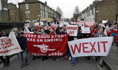 "Arsenal Fans Launch ""WEXIT"" (Wenger Exit) Campaign"