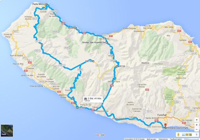 Rundtour in den Nordwesten von Madeira