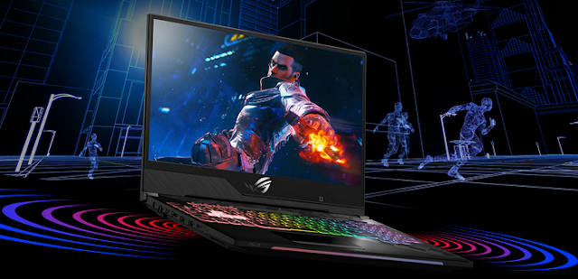 Highlight Asus ROG Strix Scar II