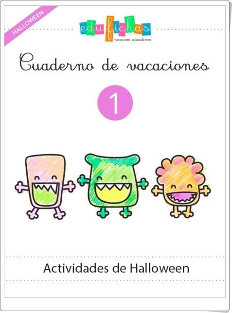 """Cuadernillo de Halloween 1 para Educación Infantil"" (Multidisciplinar)"