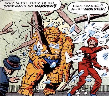 Thing Fantastic Four 1