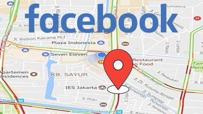 Cara berbagi lokasi di status facebook