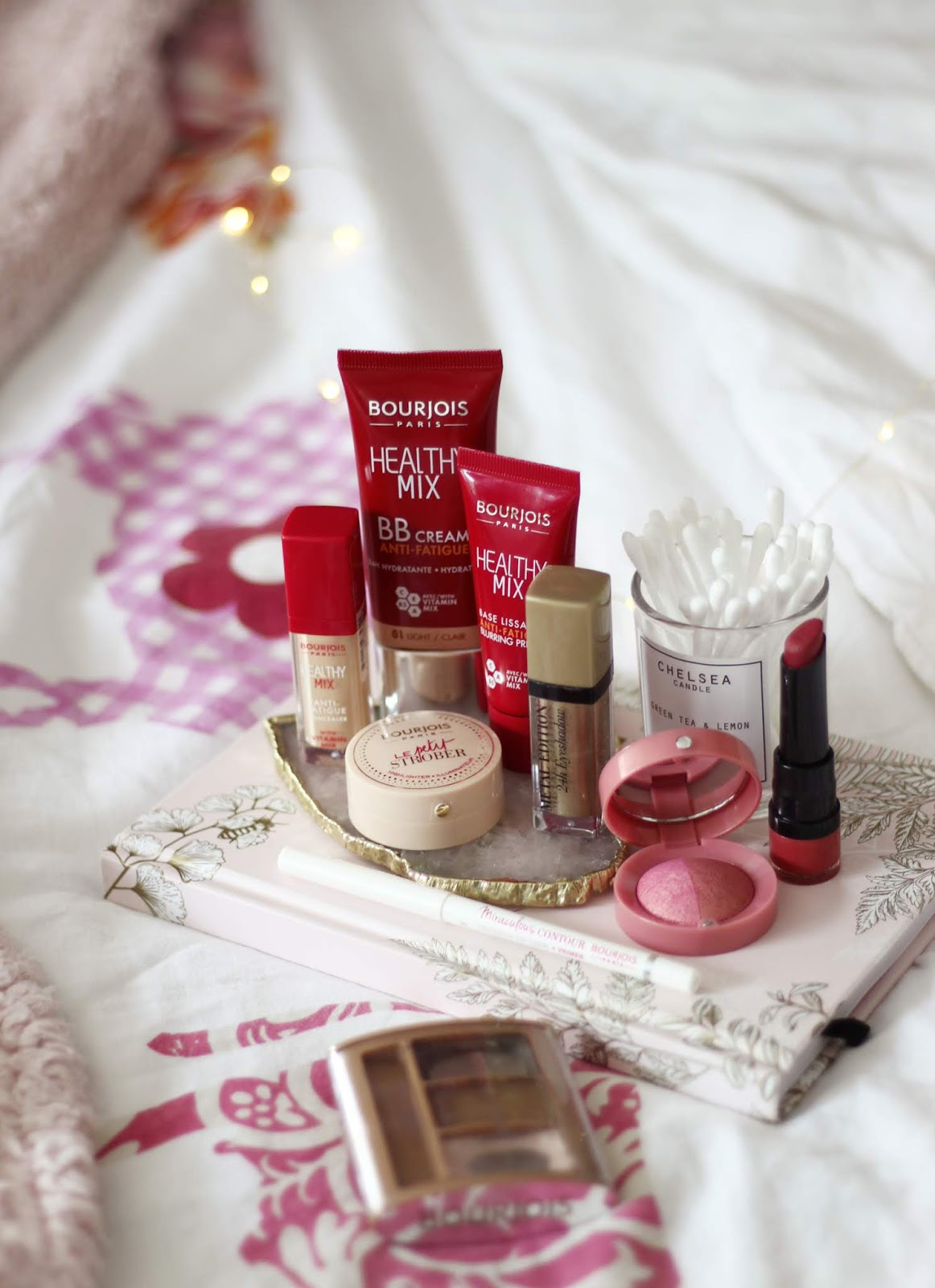 Full face and Test of Bourjois - Healthy Mix BB Cream, Le