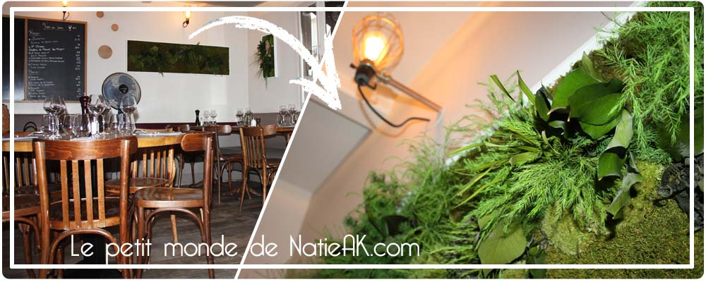 mur végétal  Les saisons Paris