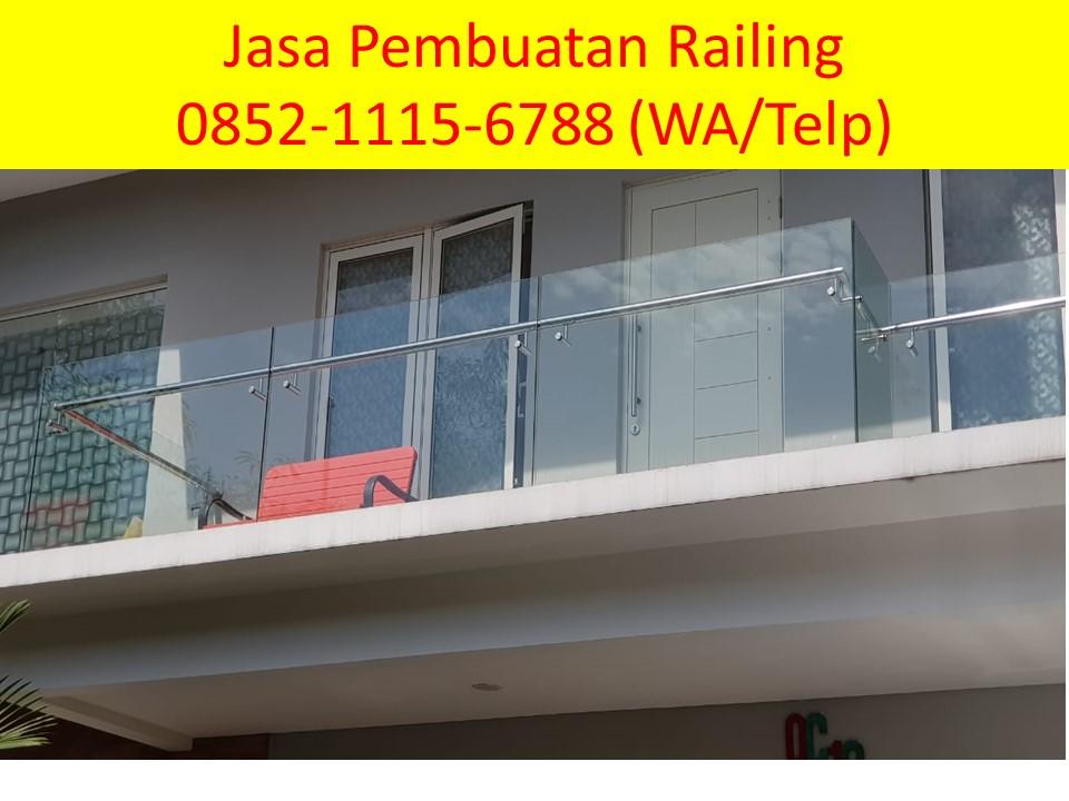 Hub 0852 1115 6788 Railing Balkon Stainless Minimalis