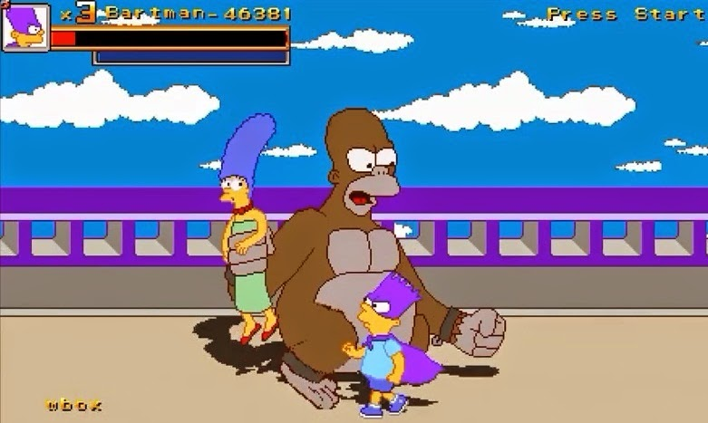 Game Simpsons Treehouse of Horror