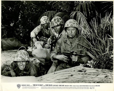 None But The Brave 1965 Tommy Sands Clint Walker Image 1