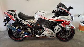 BURSA MOGE BEKAS : Jual Kawasaki ZX14R - JAKARTA