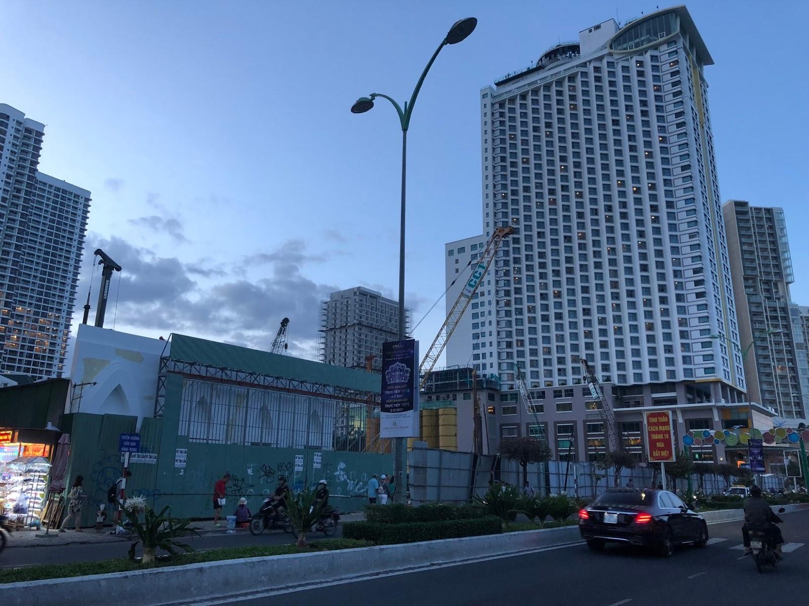 Tiến độ xây dựng dự án Beau Rivage Nha Trang