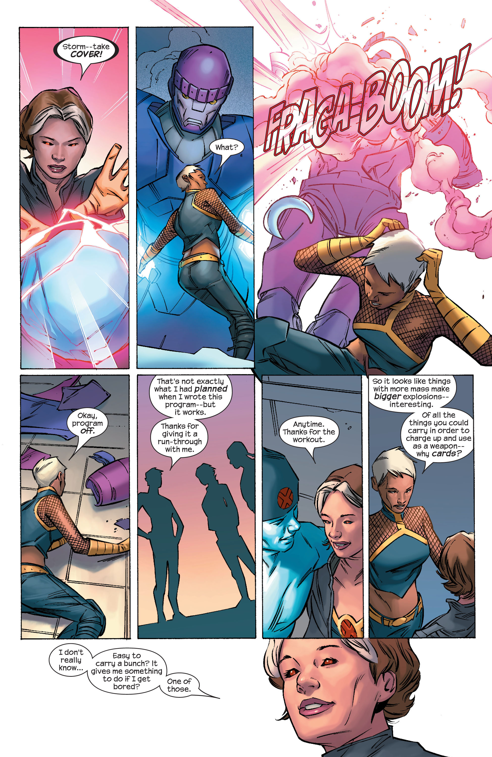 Read online Ultimate X-Men comic -  Issue #69 - 15