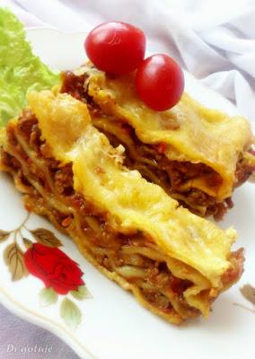 Lasagne bolognese (wersja klasyczna)