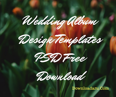 Wedding Album Design Templates PSD Free Download | 12x36 | 12x30