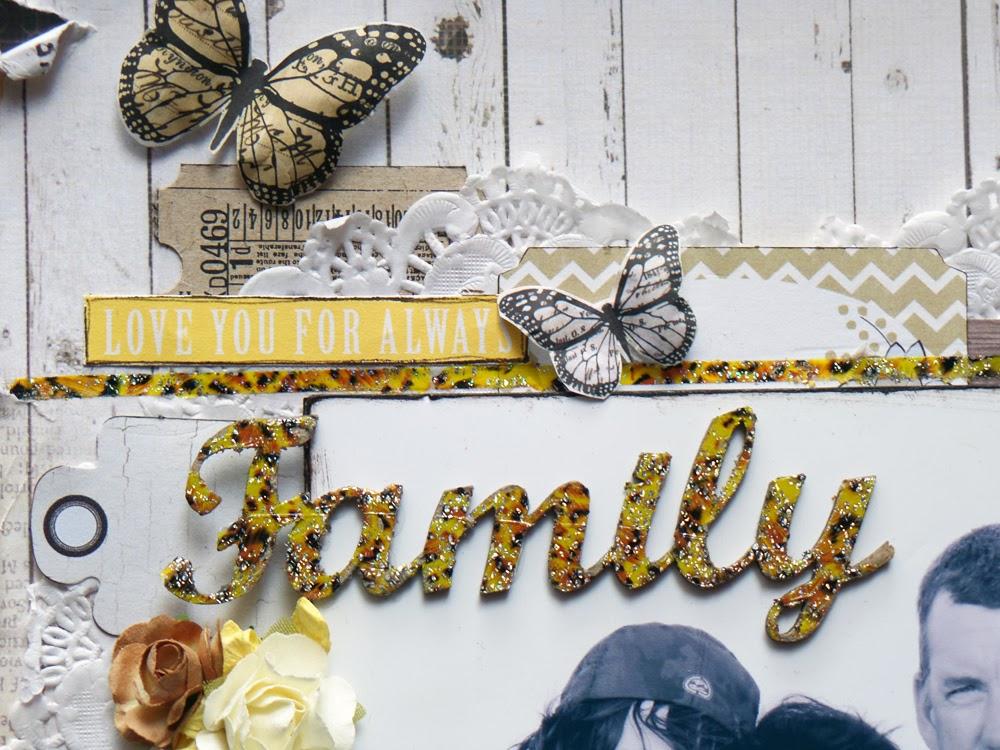 Australian Scrapbook Ideas #25 Frame it up ~ Family | Michelle Grant ...