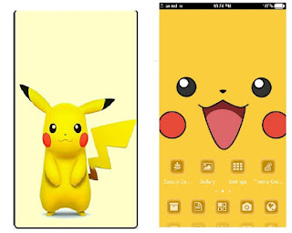 Pikachu .itz Theme For Vivo