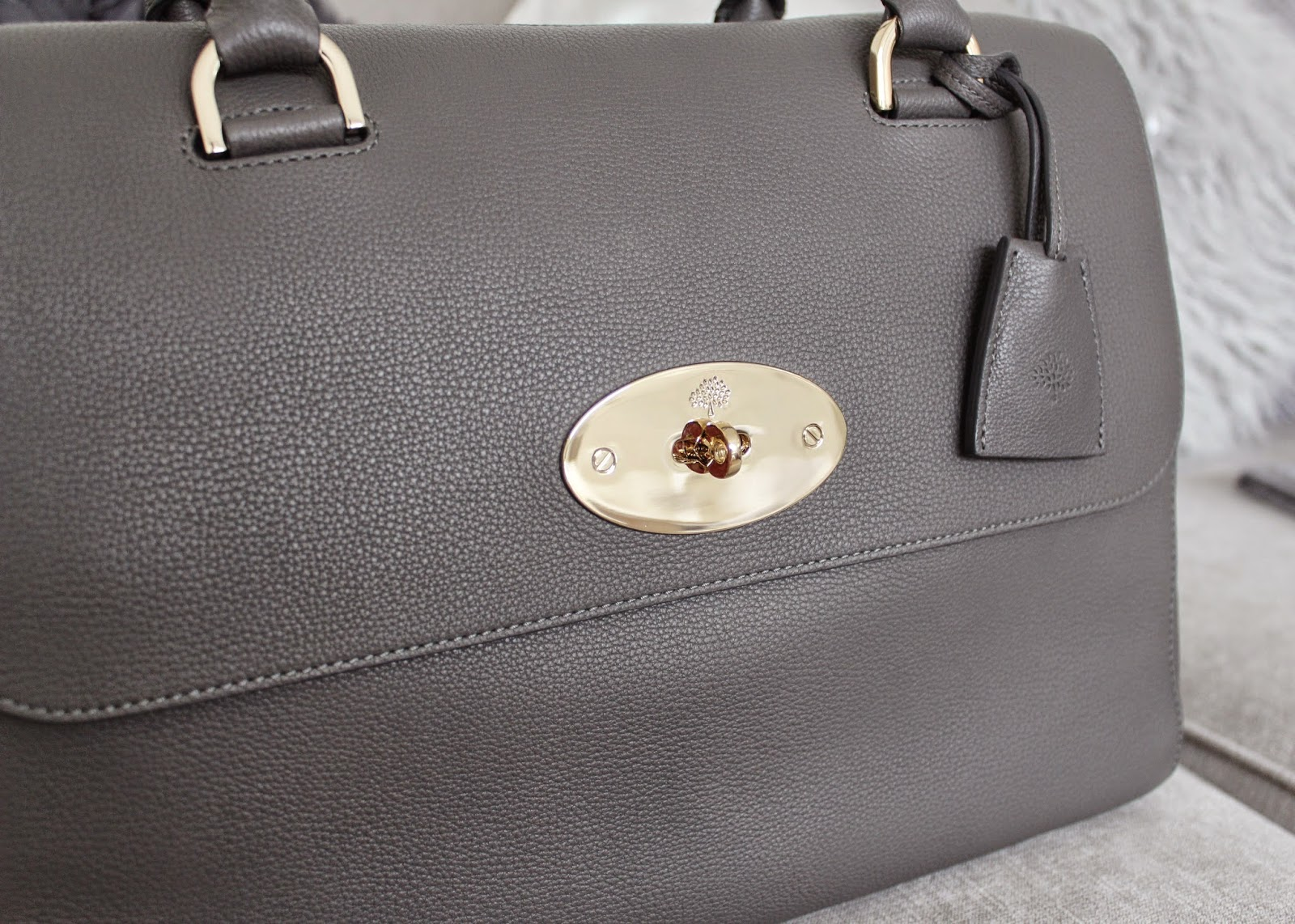 Mole Grey Del Rey bag from the Mulberry Outlet at Bicester Village - plus  current bag stock list! bb6840a100a0c