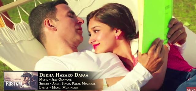 Dekha Hazaaro Dafa | Rustam | Arijit Singh | Palak Muchhal