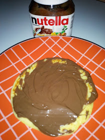 Resep Pancake Nutella