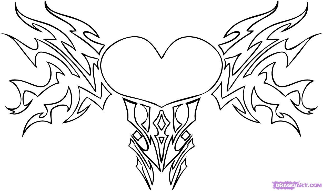 Imagenes de corazones de amor para colorear | Imprimir - IMÁGENES ...