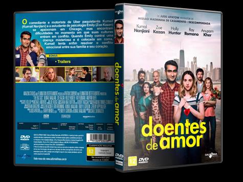 Capa DVD Doentes de Amor [Custom]