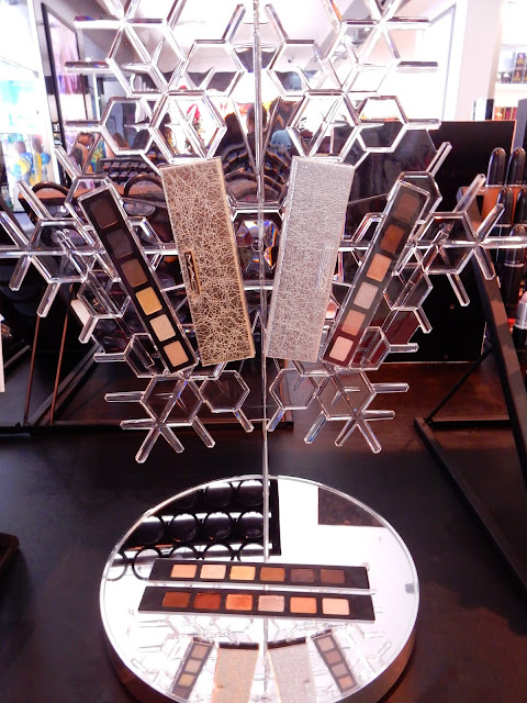 M.A.C Snow Ball Collection eyeshadow palette display - www.modenmakeup.com