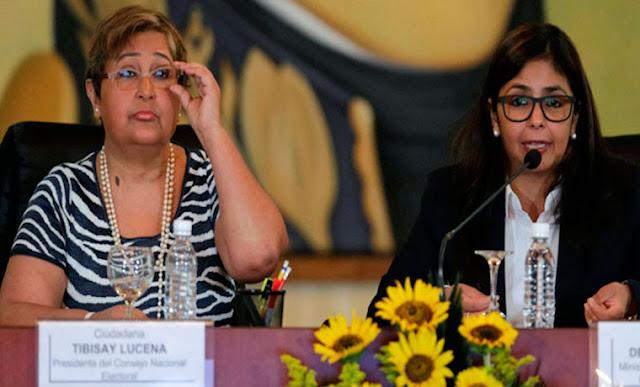 Tibisay Lucena reapareció para formalizar el Movimiento Somos Venezuela