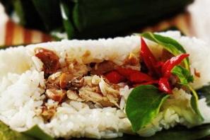 resep nasi bakar ayam jagung