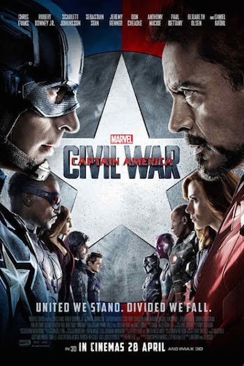 Download Captain America Civil War 2016 Hindi Dubbed HDCAM 800MB