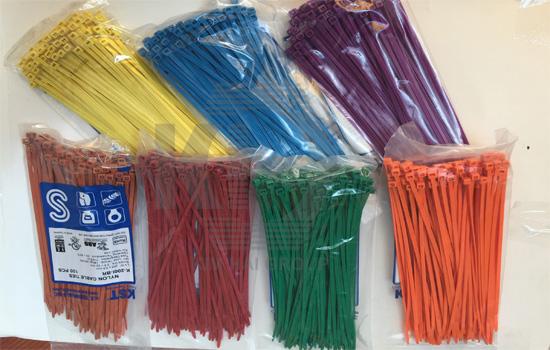 lạt nhựa màu có đánh số, phân loại hàng hóa