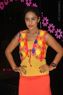 Telugu Actress Model Sri Reddy Latest Stills in Yellow Dress  0037.JPG