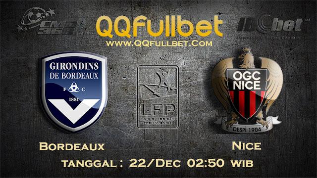 PREDIKSIBOLA - Prediksi Taruhan Bola Bordeaux vs Nice 22 Desember 2016 (Liga 1 Perancis)