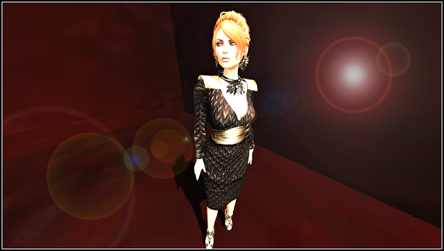 Looking Red Carpet ready in Virtual Diva for The Instruments