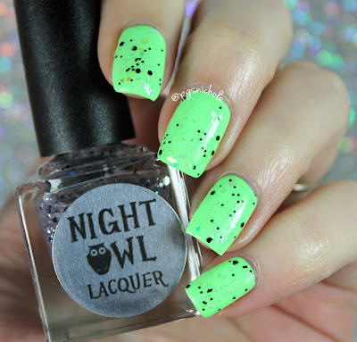 Night Owl Lacquer Light Up the Shadows |  Light & Bright Collection