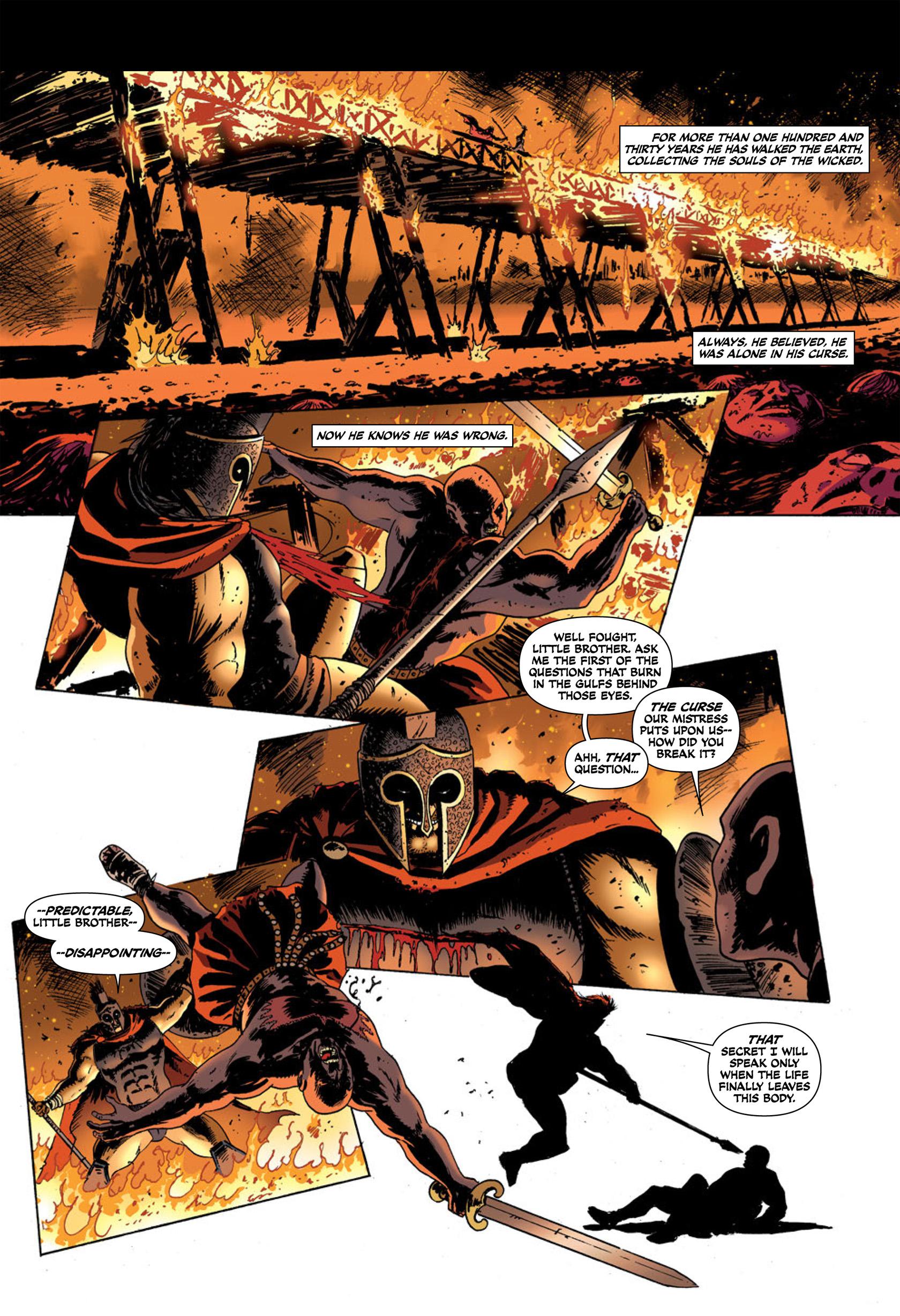 Read online Aquila comic -  Issue #2 - 13
