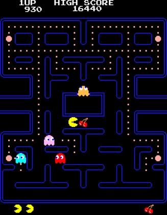 Come Cocos Clásico Online (Pacman)