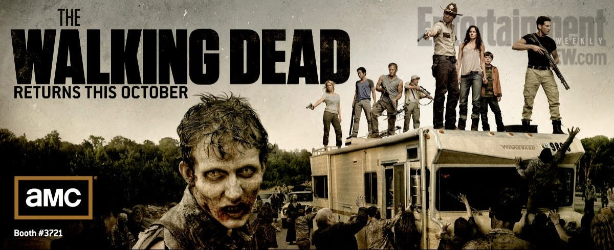 Banner Poster Of The Walking Dead Season 2 Teaser Trailer
