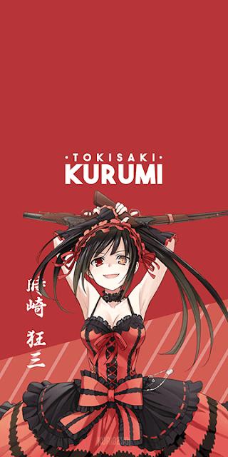 Tokisaki Kurumi- Date A Live Wallpaper
