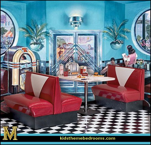 Decorating Theme Bedrooms Maries Manor 50s Bedroom Ideas Decor 1950s Retro