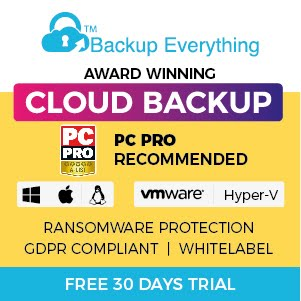 Backup Everything UK Cloud Backup Online Backup Remote