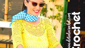 Blusa Calada tejida a crochet / Patrones