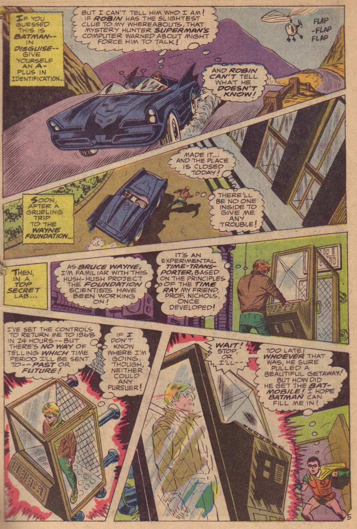 Read online World's Finest Comics comic -  Issue #181 - 6
