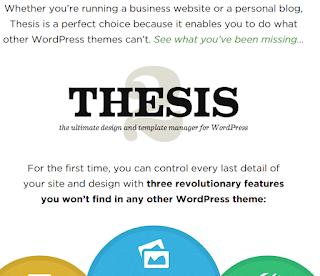 Thesis Wordpress Theme