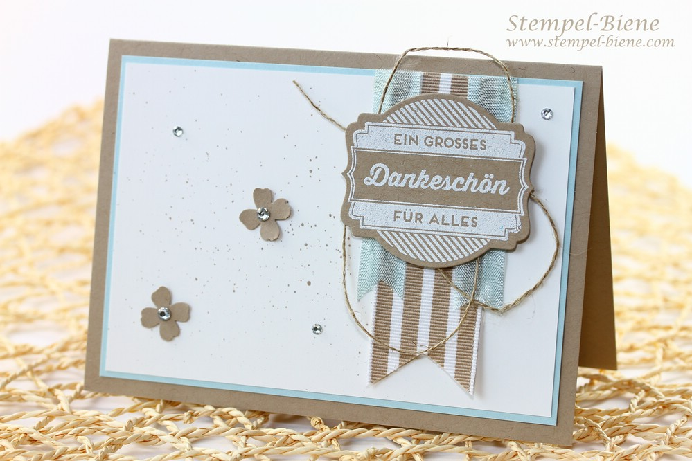Stampin' Up Dankeskarte, Stampin Up Ach du meine Grüße, Stampin' Up Stempelparty, Match the Sketch, Stampin Up bestellen, Stampin Up Katalog 2014