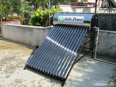 Solar Hot Water Heating Panel